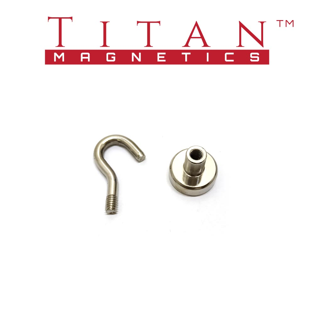 Rare Earth Magnet with Detachable Hook
