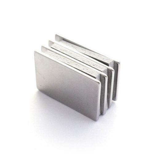 RareEarth Magnets Singapore-30x20x1.5 4pcs
