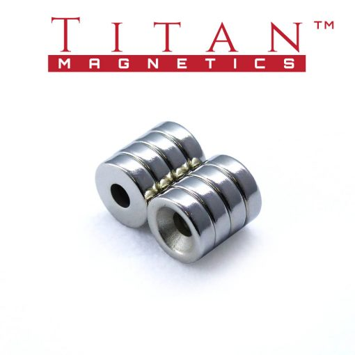 Rare Earth Ring Magnets 10mm Dia.