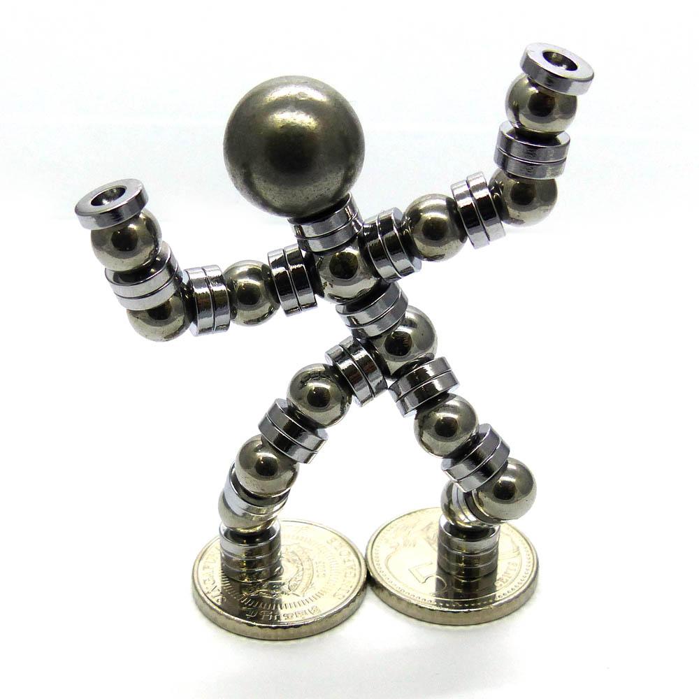 Ring Magnet Man Sculpture