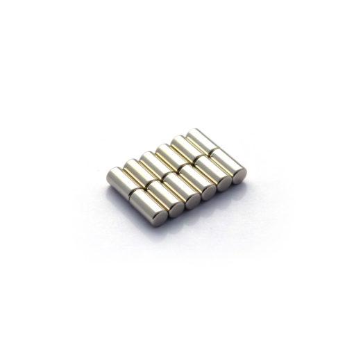 Rod NdFeB Magnets D5x10mm 12pcs