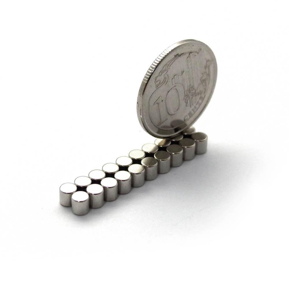 Singapore 10cents On Neodymium Magnets