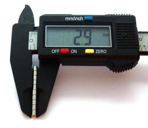 Tiny Neo Magnets- Diameter 3mm