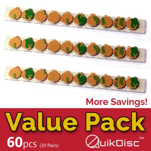 Titan Magnetics QuikDisc Value Pack 60pcs