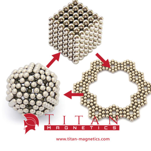 Sphere Neodymium Magnets Puzzle